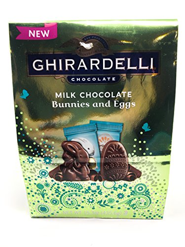 colate Bunnies and Eggs, Limited-Edition Bag, 15.3 ounces (435.6 grams) (Ghirardelli Chocolate Wholesale)