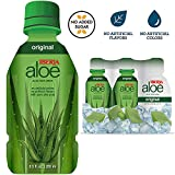 Iberia Aloe Vera Juice Drink, Original, 9.47 fl oz (Pack of 6), with Pure Aloe Pulp, Aloin-Free, No Artificial Flavors Preservatives or Colors, Gluten Free, Vegan, BPA Free