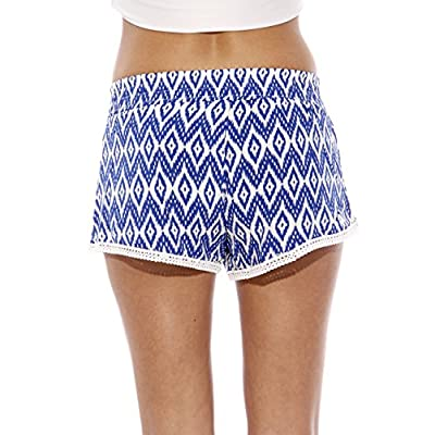 Just Love High Waisted Women Shorts - Summer Pom Pom Beach Shorts | Amazon.com