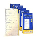 600 Sets Per Order - Cash Money Rent Receipt Invoice Record Guest Check Book 2-Part Carbonless