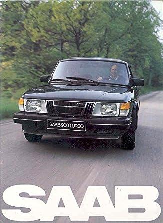Amazon.com: 1982 Saab 900 & Turbo Sales Brochure Canada: Entertainment Collectibles