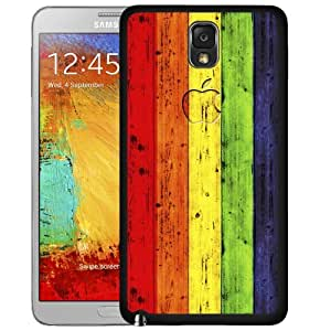 Lgbt Colorful Rainbow Gay Pride Rubber Silicone TPU Cell Phone Case Cover (Note III 3 N9000)