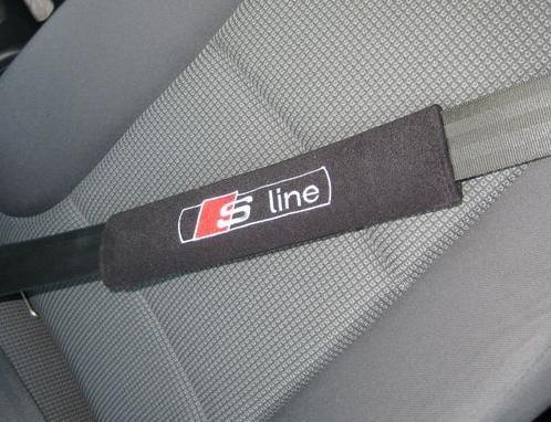 colorz-4-carz 001harnesssline Sicherheitsgurt Gurtpolster schwarz mit Logo