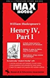 img - for Henry IV, Part I (MAXNotes Literature Guides) by Michael A. Modugno (1996-04-18) book / textbook / text book