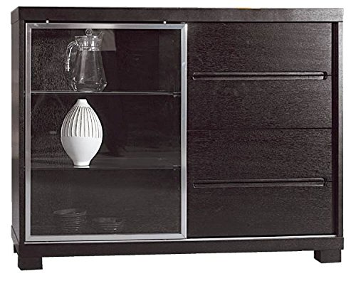 (Beverly Hills Furniture Dining Room Buffet in Espresso Finish)