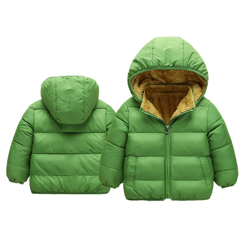ade040f1a Amazon.com  Baby Toddler Boy Girl Winter Clothes Hoodie Warm Coat 1 ...
