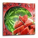 Cheap 3dRose dpp_17316_1 Watermelon Wall Clock, 10 by 10-Inch