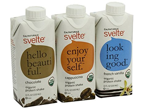 CalNaturale-Svelte-Organic-Protein-Shake-Variety-Pack-11-Ounce-Pack-of-12