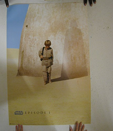Stars Wars Poster Episode I Anakin Darth Vader Shadow Phantom Menace