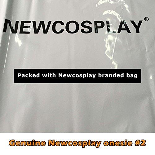 NEWCOSPLAY Childrens Pajamas Sleeping Wear Animal Onesies Cosplay Homewear (125#, Pink Unicorn) by NEWCOSPLAY (Image #7)