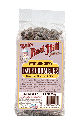 Bob's Red Mill Date Crumbles, 20-ounce