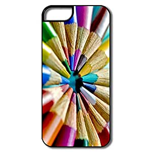 Section Colored Pencils Circle IPhone 5/5s Case For Him