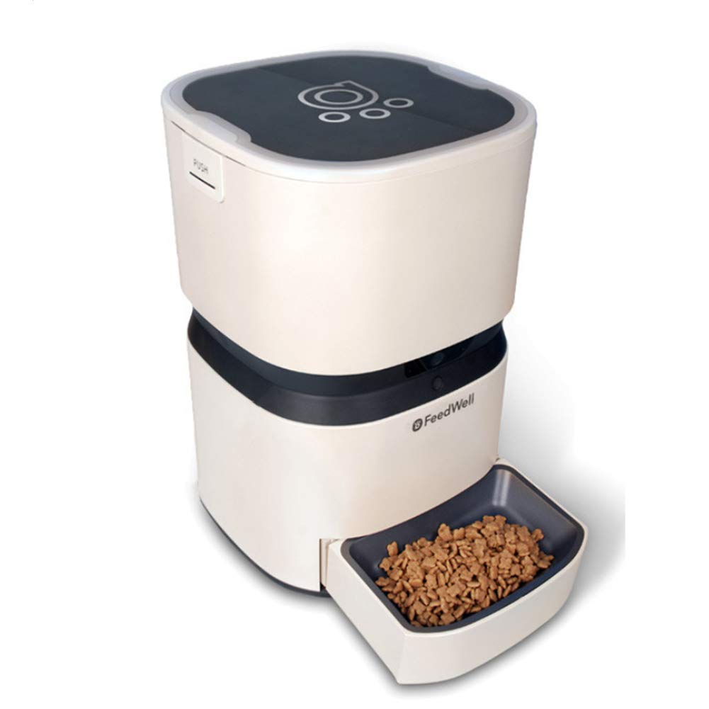 NZH Smart Pet Feeder, Timed Feeding, Remote Control, Removable And Washable Design
