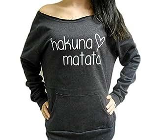 Amazon.com: Strong Girl Clothing Women's Hakuna Matata Eco ...