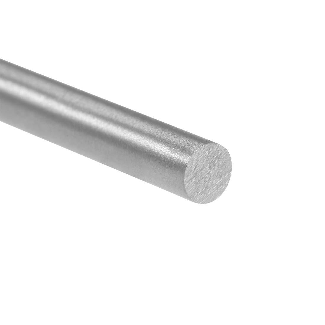 uxcell Round Rod 7.5mm Diameter 100mm Length HSS Lathe Bar Stock for Shaft Miniature Axle DIY Craft Tool 10 Pcs