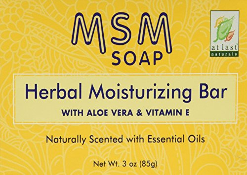 Au dernier Naturals MSM Herbal hydratante Bar 3 oz