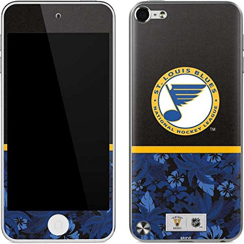 NHL St. Louis Blues iPod Touch (5th Gen&2012) Skin - St. Louis Blues Retro Tropical Print Vinyl Decal Skin For Your iPod Touch (5th - Skin Blues Louis Ipod