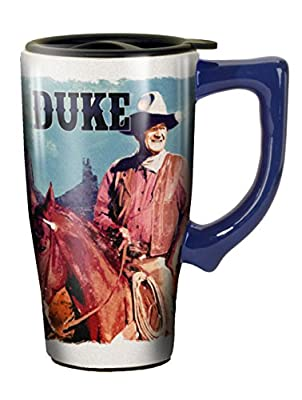 "Spoontiques ""John Wayne"" Travel Mug, Multicolor"