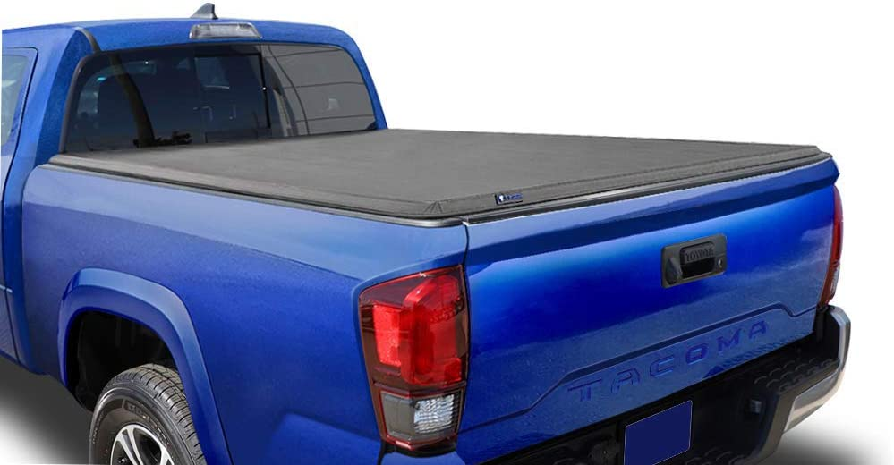 Amazon Com Tyger Auto T3 Soft Tri Fold Truck Bed Tonneau Cover For 2016 2018 Toyota Tacoma Fleetside 6 Bed Tg Bc3t1531 Black Automotive