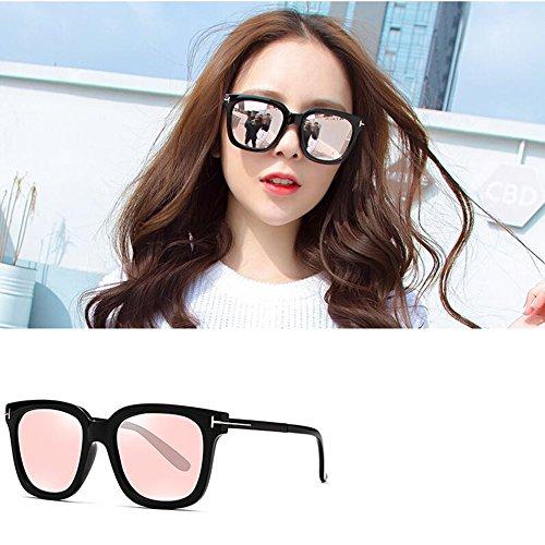 gray Hommes Personnalité pink Pour Soleil Black Couleur De Polarisées Mode Neutre lenses lenses Lunettes Barbie HONEY FqCP11