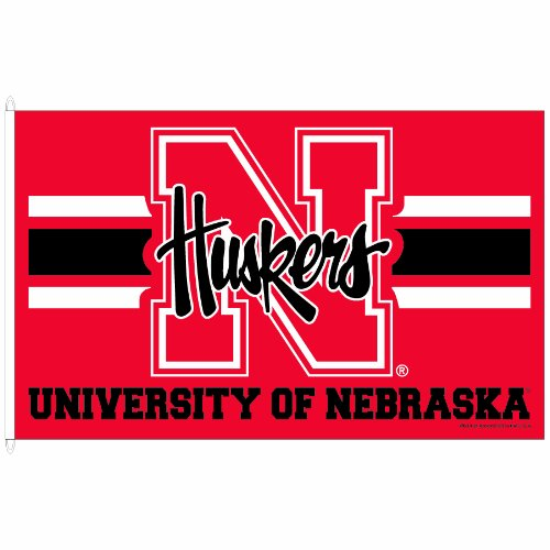 WinCraft NCAA Nebraska Cornhuskers 3-by-5 foot Flag