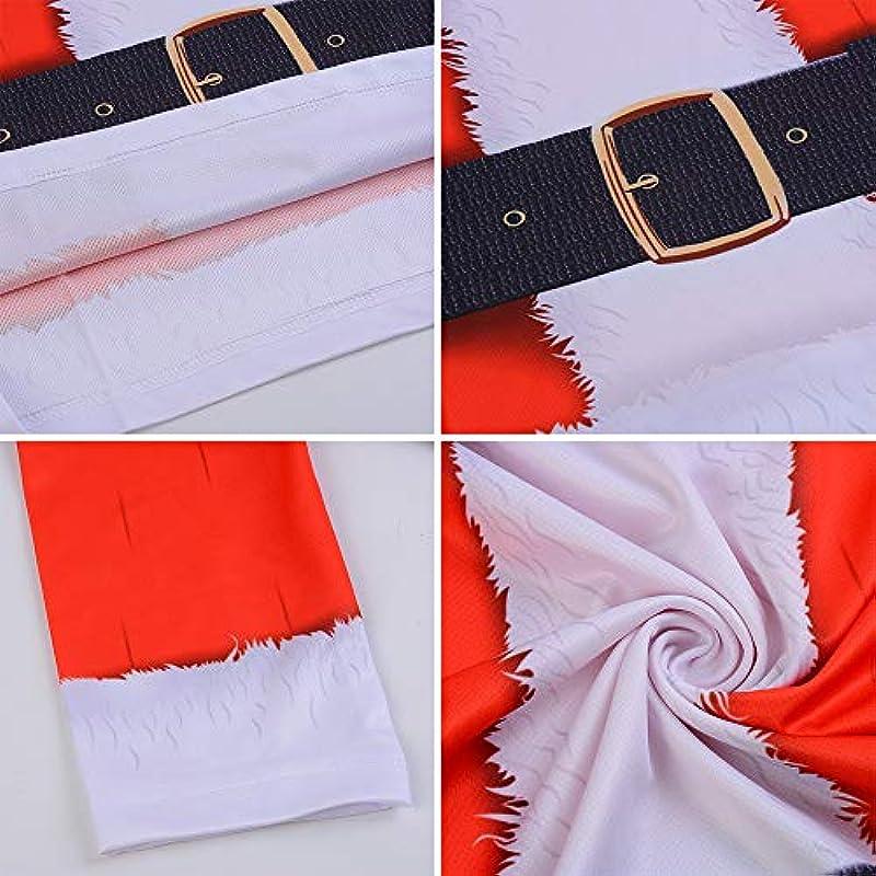Nibesser męska koszulka z długim rękawem bluza bożonarodzeniowa sweter z dzianiny sweter z okrągłym dekoltem z nadrukiem choinki 3D: Nibesser: Odzież