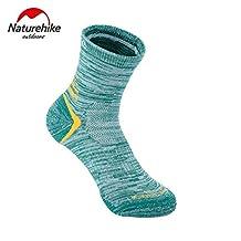 Naturehike 4pairs Hiking Socks Sport Socks Coolmax Quick-drying Summer socks