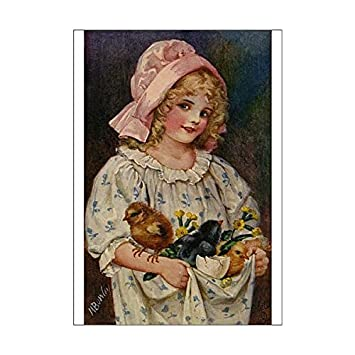 A1 poster of girl bearing easter gifts 14256253 amazon a1 poster of girl bearing easter gifts 14256253 negle Images