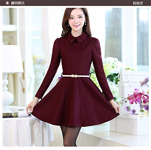 rosa ERLINGSAN fine Belt Crony Candy stretto fashion donna colore decorativo rosso Cintura YD donna OYxrqOwpa