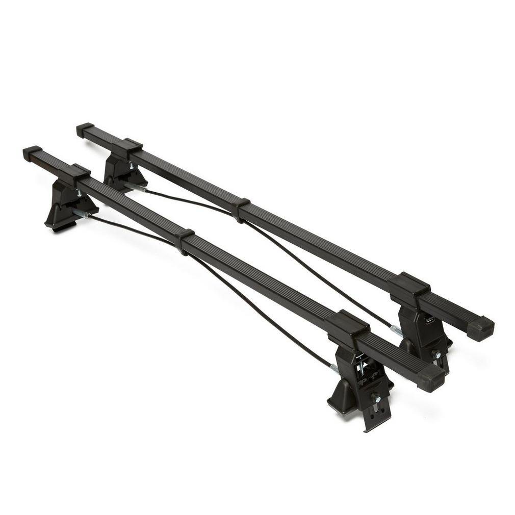 Pair of for Cars Without Running Rails Summit Sum-101 Multifit Roof Bars