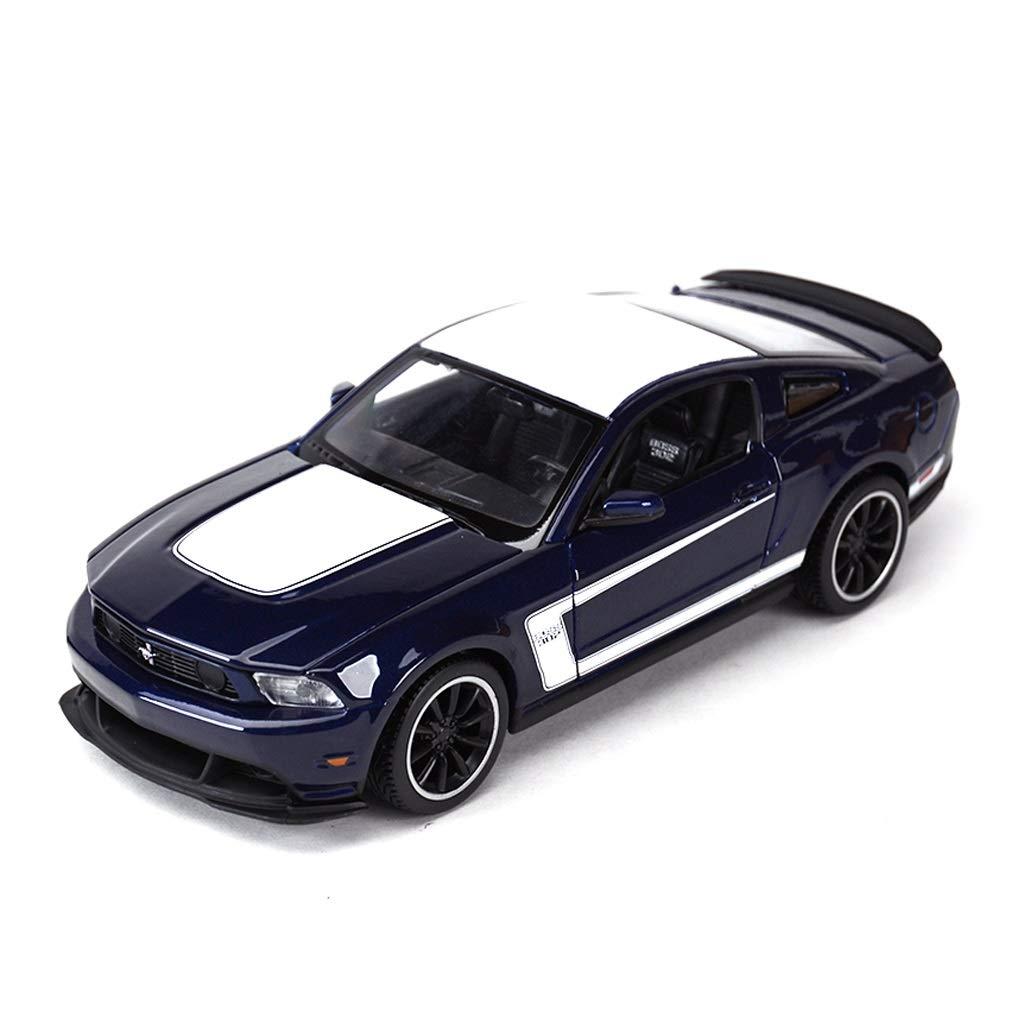 Auto Modello Modello Auto Ford Mustang BOOS302 Modello in Scala 1 24 Modello Die Casting Modello in Lega Modello Collezione Decorazione Regalo ( Colore   Blu )