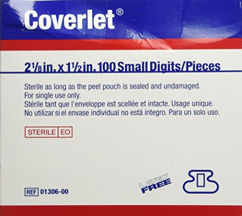 Coverlet Small Fingertip Bandages 100/bx