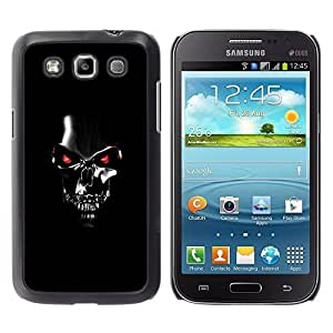 Impact Case Cover with Art Pattern Designs FOR Samsung Galaxy Win I8550 Robot Skull Black Scary Movie Technology Betty shop