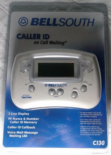 Bell Telephone South - Bell South Caller ID Phone Box CI30