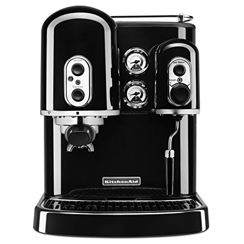 KitchenAid KES2102OB Pro Line Series Espresso Maker with Dual Independent Boilers, Onyx Black