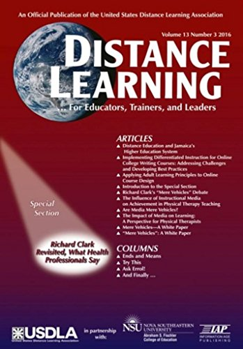 Distance Learning - Issue: 13 (Distance Learning Journal)