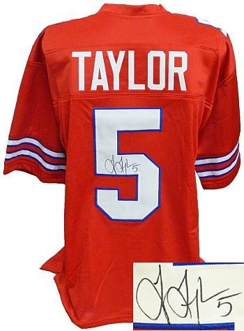 red tyrod taylor jersey