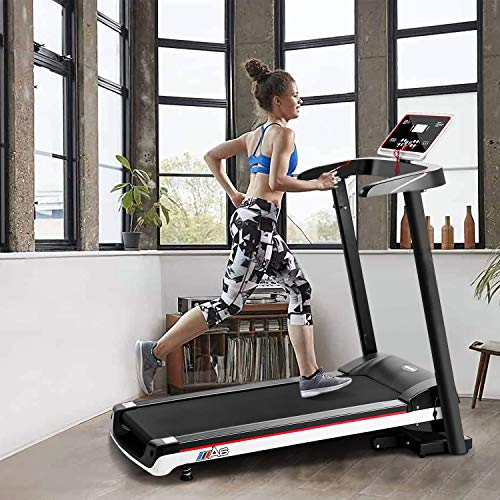 OOTORI 2.0HP Treadmills,Motorized Running Machine for Home with Folding,Easy Assembly,Sturdy,Portable and Space Saving,0.6-8 MPH, Maximum User Weight 260LBS