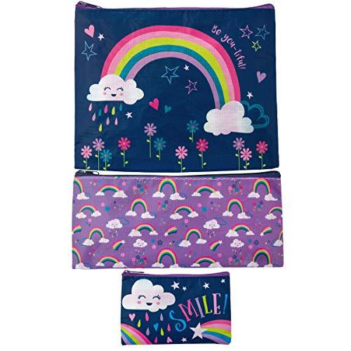 (Stephen Joseph Girls' Big Recycled Bag Sets, Rainbow, Size)