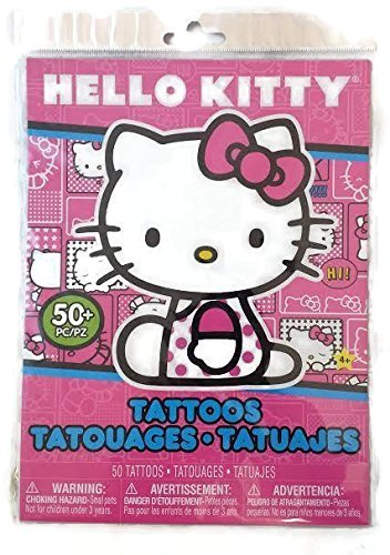 Hello Kitty Tattoos 50 Pieces by Hello -