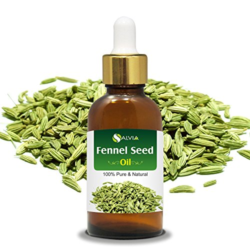 Fennel Seed Oil with Dropper 100% Natural Pure UNDILUTED Uncut Essential Oils (15ml with Dropper)