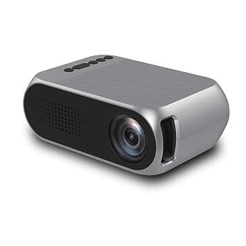 PL Proyector, Puede Mirar Video Compatible 1080P Mini portátil ...
