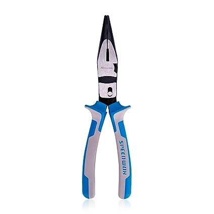 Alicates de punta larga de acción de compuesto de SPEEDWOX de alta palanca, cortadores de