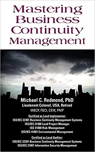 Amazon com: Mastering Business Continuity Management (9781634914215
