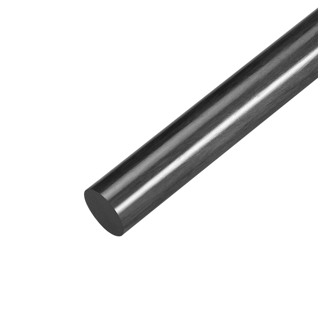 uxcell 8mm Carbon Fiber Bar For RC Airplane Matte Pole US 200mm 7.8 inch