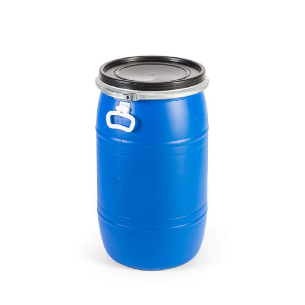 Mugar- Bidón de plástico de 65 litros cierre Ballesta metálica