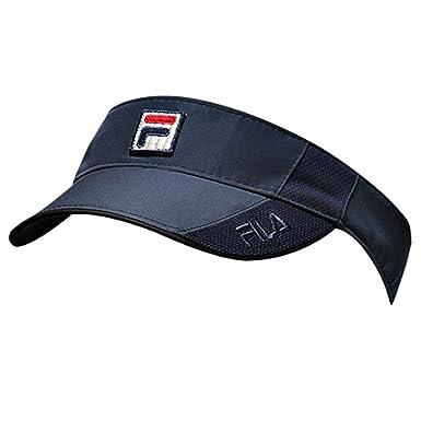 bffbdb59 Fila Women's Performance Visor Navy Blue One Size at Amazon Women's  Clothing store: Visors Headwear