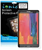 Ionic Screen Protector Film Clear (Invisible) for Samsung Galaxy Tab Pro 10.1 TabPro 10.1 (3-pack)[Lifetime Warranty]