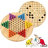 Best Chinese Checkers Game Sets - Wondertoys 2 in 1 Chinese Checkers & Gobang Review