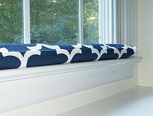 Draft Stopper - Navy Blue u0026 White - Unfilled Window or Door Draft Stopper  sc 1 st  Amazon.com & Shop Amazon.com | Draft Stoppers pezcame.com